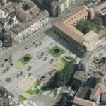 Piazza della Repubblica ed ex Caserma Garibaldi a Varese